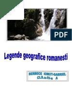 legende geografice