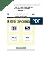 Voto electrónico referéndum