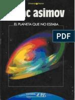 El Planeta Que No Estaba - Isaac Asimov