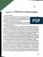 Análise de Discurso e Interpretação - Orlandi.pdf
