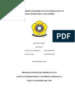 Laporan K3 Di Bengkel Las Kelompok 1 (Rima dan Winda) Alih program 2016.docx