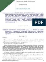CEEA vs NLRC _ 121315 _ July 19, 1999 _ J. Kapunan _ First Division