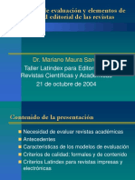 MODELO DE EVALUACION