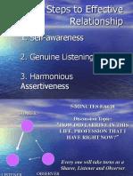 07 Relationship & Listening & Assertiveness