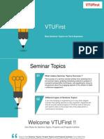 Best Seminar Topics for Tech Aspirants