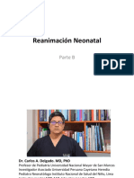 Reanimación Neonatal - Parte B