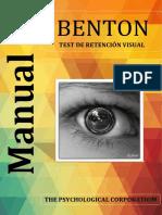 Administracion Del Test de Benton Docx