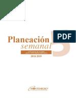 Planeacion Semanal 5 2018 Editable