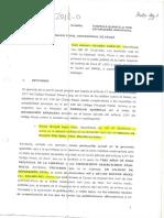 Demanda de José Antonio Eguren