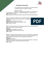 Publicações - AtivaEQ