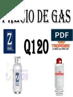 Precio de Gas