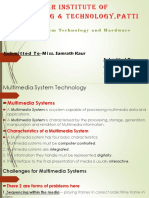 Multimedia System and Hardware Devices