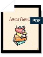 Theories and Principles Lesson Planning