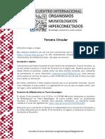 Tercera Circular - Encuentro Museos Hiperconectados Paraguay
