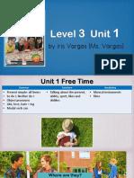 level 3 unit 1