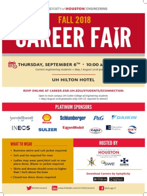 Fall 2018 Engineering Career Fair Book | Publicly Traded
