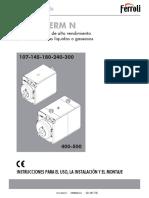 Manual Prextherm n
