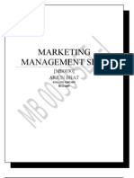 Marketing Mgt SET - I