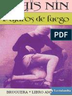 Pajaros de fuego - Anais Nin.pdf