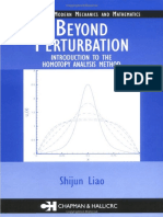 (Modern Mechanics and Mathematics) Shijun Liao-Beyond Perturbation_ Introduction to the Homotopy Analysis Method-Chapman and Hall_CRC (2003)