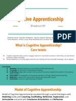cognitive apprentiship - presentation