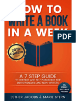 Preview-How to Write Your Book in 1 Week