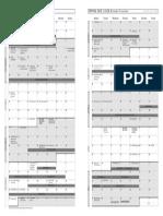 Academic Calendar 2018 19