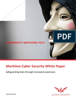 ESC White Paper on Maritime Cyber Security 2016 02