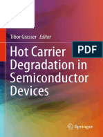 Hot Carrier Degradation in Semiconductor Devices 9783319089935