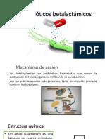 Antibióticos betalactámicos.pptx