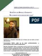 Entrevista M. Chiuminatto