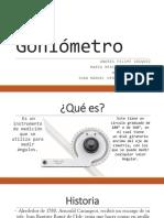 Goniómetro presentacion