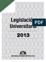 Legislación Universitaria UAM