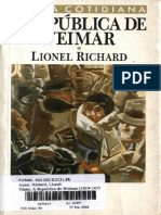 RICHARD, Lionel - A República de Weimar - Cap I - PDF Free Download