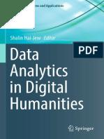 Análisis de datos en las humanidades