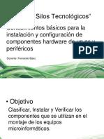 Conocimientos Básicos Para La Instalación y Configuración de Componentes Hardware de Un Pc y Periféricos