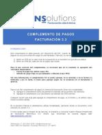 Manual Complemento Pagos 3.3