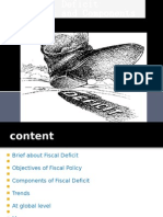 Revieced Fiscal Deficit