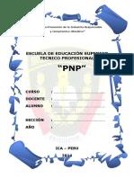 CARATULA ´- POLICIA NACIONAL DEL PERU