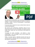 Curso de Memorização Renato Alves [ GARANTIDO ] Por Pedagogos e Técnicos do MEC