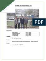 Tecnologia Del Concreto Informe de Laboratorio 1.