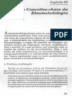 Etnometodologia (Capitulo 3) - Coulon