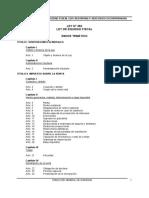 Ley 453 Ley de Equidad Fiscal Con Reformas