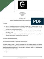 Roteiro de Aula - Aula 07 - Tena Nº 1 Pertenças e Continuação Da Aula Nº 6 Teoria Geral Dos Bens Juridicos