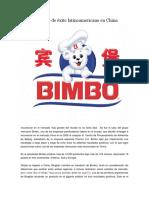 Bimbo en China