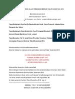 Teks Ucapan Pengerusi Majlis Perasmian Seminar Wakaf Nusantara 2018