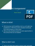 ada assignment final