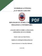 Analisis Critico Paulo Freire