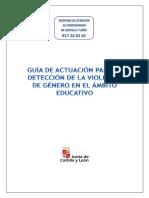 guía violencia de género educacion