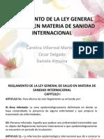 Reglamento de La Ley General de Salud en Materia de Sanidad Internacional